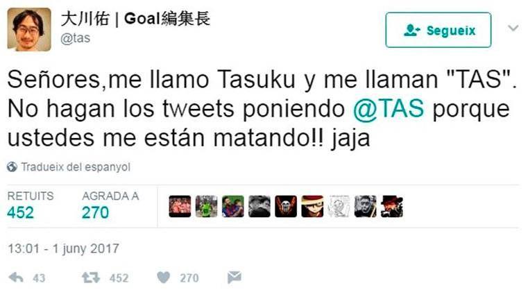 VIRAL: Un japonés, víctima cómica de la decisión del TAS