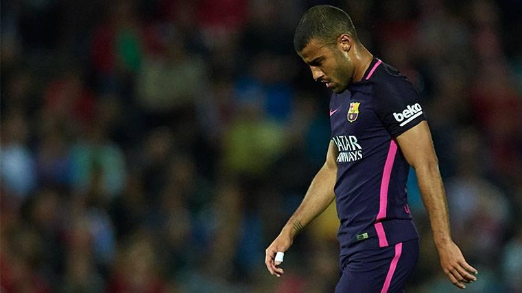 Rafinha Alcántara ¿en la puerta de salida del Barça?