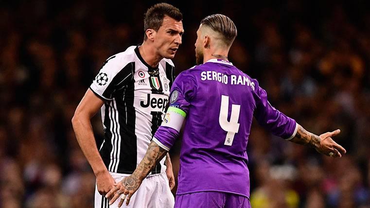 Alves y Ramos se encuentran en la final de Champions