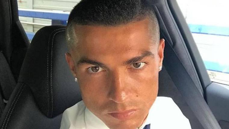 """Cambio de """"look"""" de Cristiano tras la final de la Champions"""