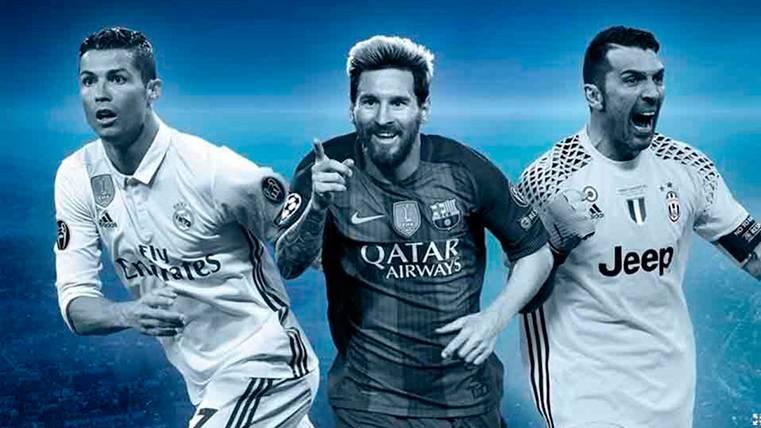 Leo Messi, en el mejor equipo de la Champions League 16-17