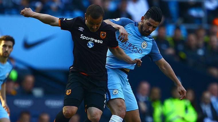 Nolito no recula y se vuelve a poner fuera del Manchester City