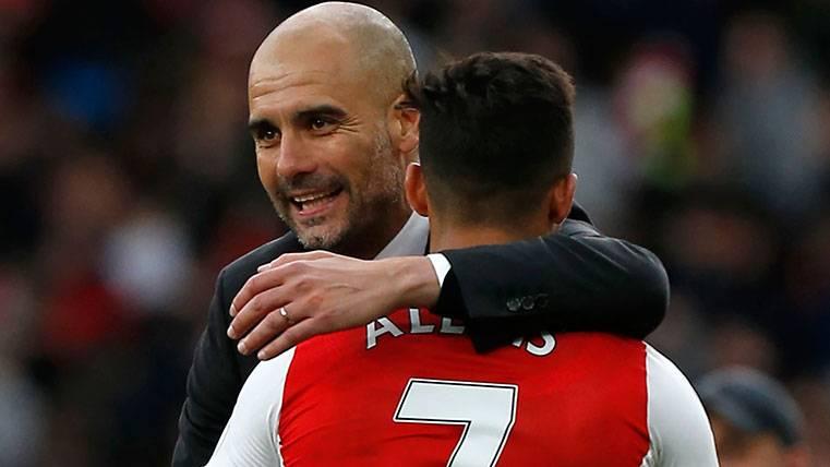 Alexis Sánchez y Pep Guardiola, ¿juntos en Manchester?