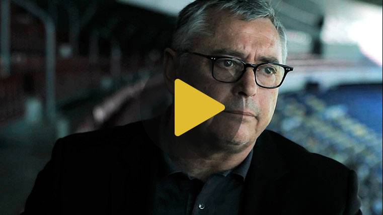 """Robinson: """"Con el Barça de Cruyff volvió la pelota al fútbol"""""""
