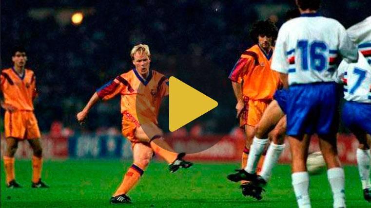 PARODIA: El mítico gol de Koeman en Wembley, según Crackovia