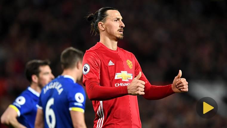 Zlatan Ibrahimovic, ¿recuperado y listo para volver a jugar?