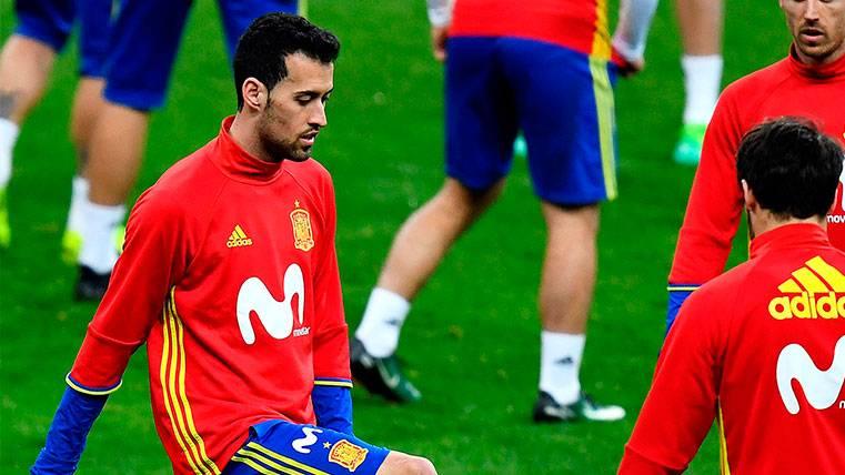Sergio Busquets, el último en apoyar a Gerard Piqué