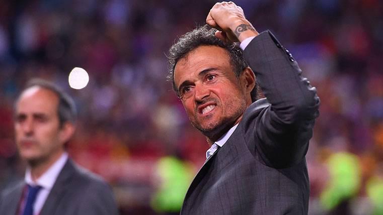 Luis Enrique, entre los técnicos candidatos a 'The Best'