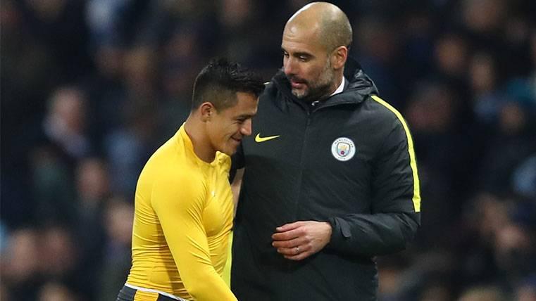 En Inglaterra colocan a Alexis Sánchez en el Manchester City