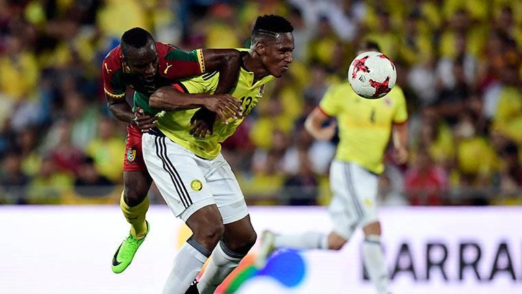Yerry Mina se lesiona y se complica su fichaje por el Barça