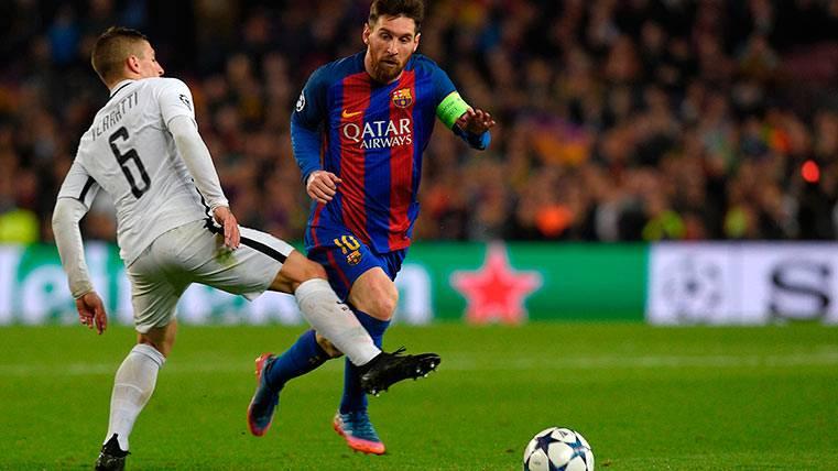 Messi, elegido MVP por los Barça Fans; Umtiti es cuarto