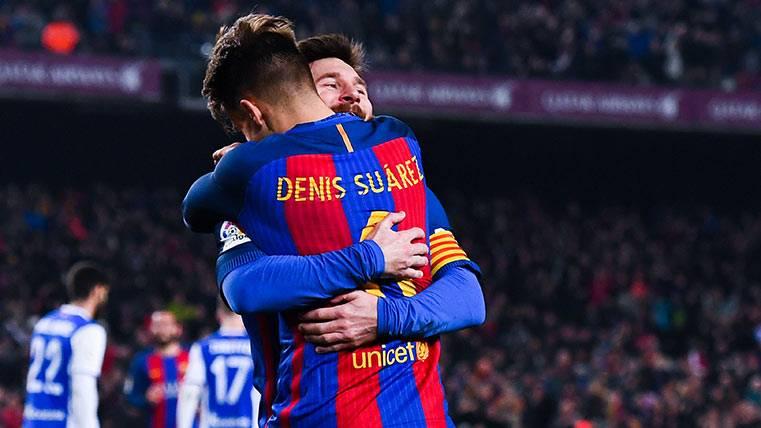 """Denis, sobre Messi: """"Es un tío de p... madre, muy buena persona"""""""