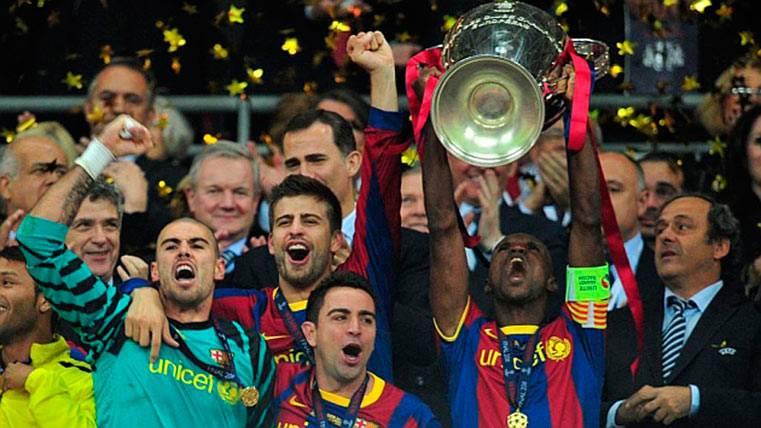 ¡Abidal no quería levantar la Champions del Barça por Puyol!