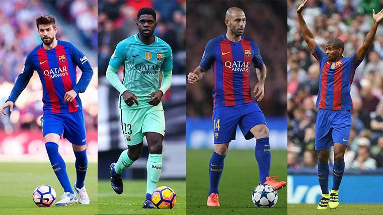 El FC Barcelona, con un gran cierre en la posición central