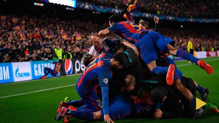INCREÍBLE: Así recrean el gol de Sergi Roberto al PSG en el PES