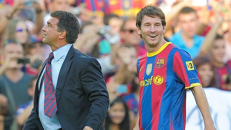BOMBAZO: Laporta dice que Messi estuvo cerca del Inter