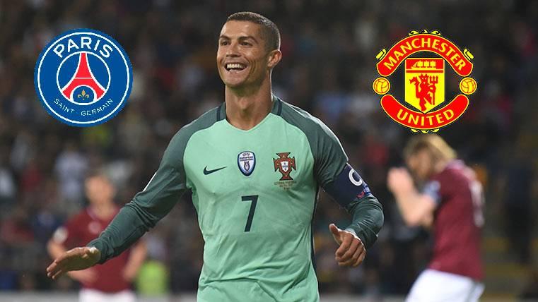 """PSG y Manchester United """"suenan"""" para Cristiano Ronaldo"""