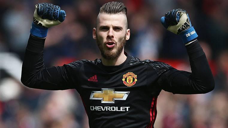 El Manchester United blinda a De Gea pidiendo una millonada