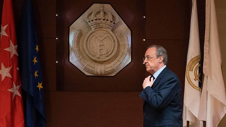 Florentino Pérez, presidente del Real Madrid hasta 2021
