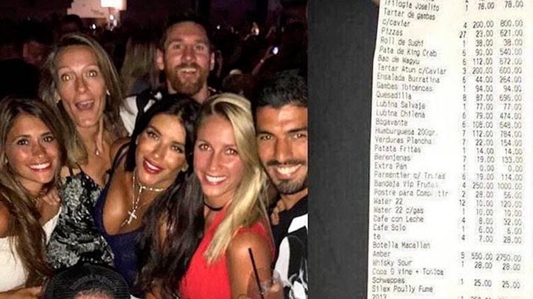 Leo Messi desmintió una falsa factura suya en Ibiza