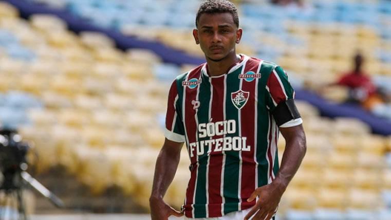 """El Barça quiere hacer """"otro Marlon"""" con un joven brasileño"""