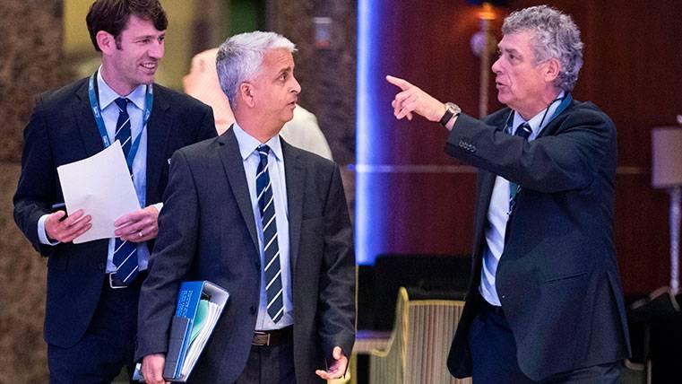 Villar dimite como vicepresidente de la UEFA y FIFA