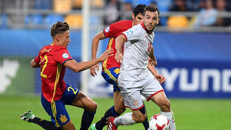 Saúl y Bellerín brillan y España Sub21 ya está en semifinales