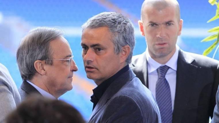 Florentino fichó a Mourinho con Pellegrini jugándose LaLiga