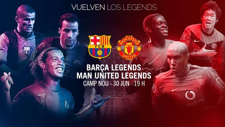 Los Barça Legends donaran fondos #paralosvalientes