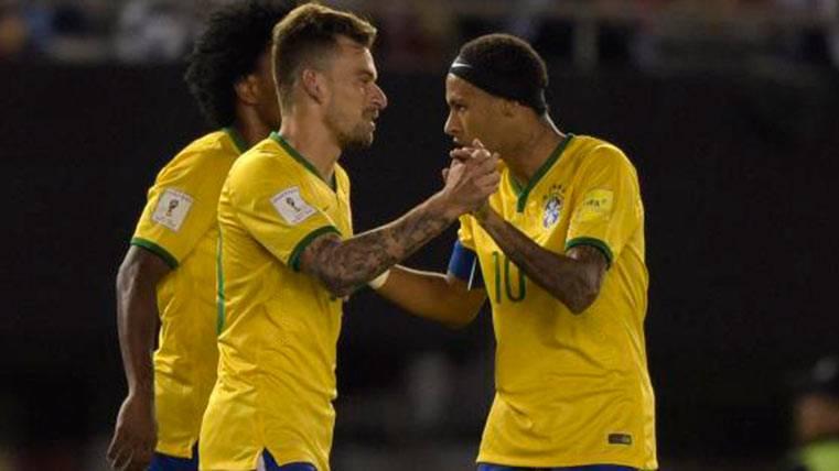 "Neymar, sobre Lucas Lima: ""Espero que vaya al Barça"""