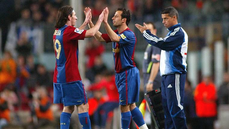 """Leo Messi, el mejor del mundo, me quitó mi sitio en el Barça"""
