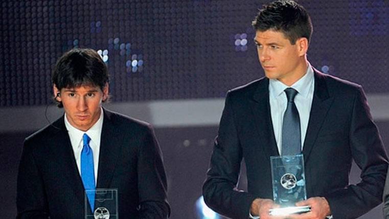 """Para Gerrard, Leo Messi es """"el mejor de todos los tiempos"""""""