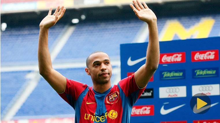 Five goals to remember the 10 years of the signing of Henry by the Barça
