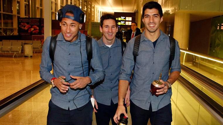 Así irá la expedición del Barça a la boda de Antonela y Messi