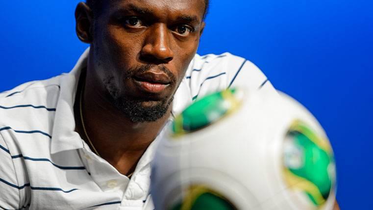 Usain Bolt quiere ser el próximo extremo del Borussia Dortmund