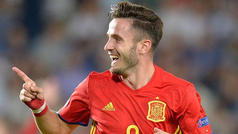 Saúl brilla más que nadie con el Barça mirando de reojo