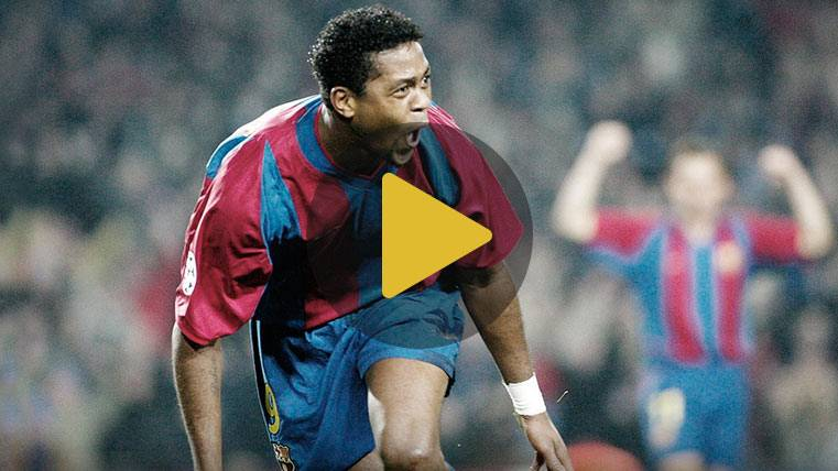 Kluivert vuelve al Camp Nou: recuerda sus 5 mejores goles
