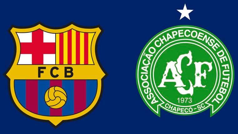 El encuentro entre Barça y Chapecoense ya tiene fecha