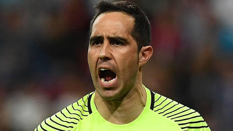 El mejor Claudio Bravo renace con la camiseta de Chile