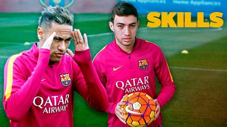 """El día que Munir se """"picó"""" con Neymar a toques de magia"""