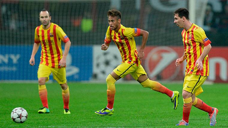 La senyera vuelve a la camiseta del FC Barcelona