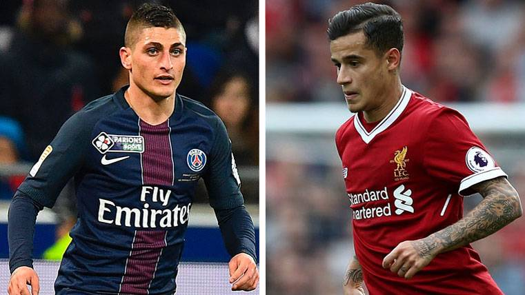 La clave del traspaso de Verratti al Barça puede ser... ¡Coutinho!