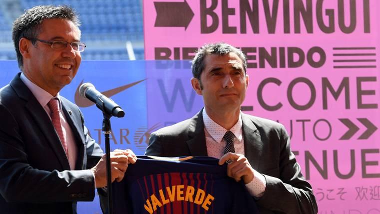 "Valverde, ""sobradamente listo"" para relanzar al Barça"