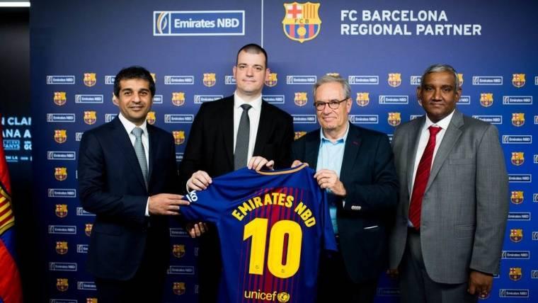 Emirates NBD Egypt, nuevo patrocinador del Barça