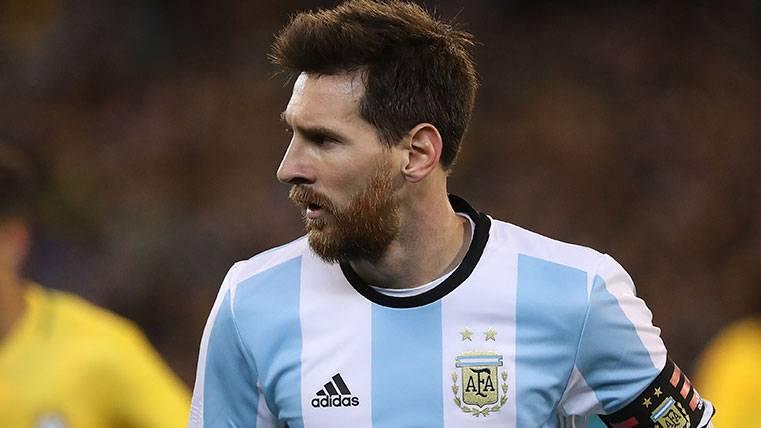 """Messi, siempre con Argentina, """"lo intentaré hasta que se dé"""""""