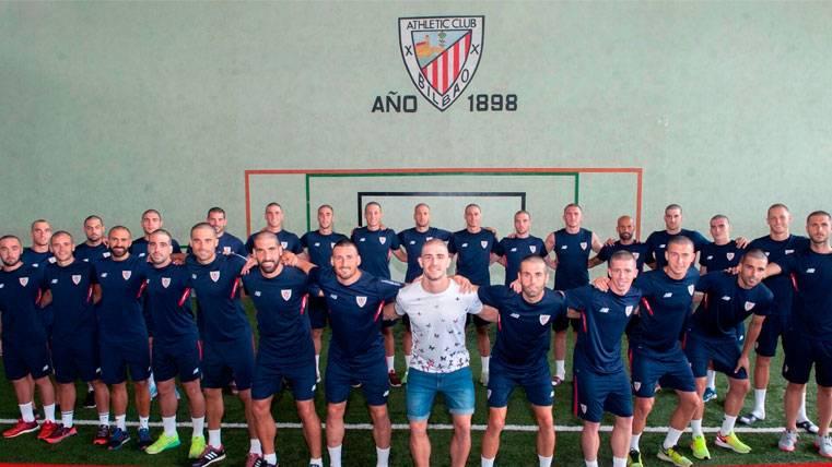 PRECIOSO: Admirable gesto de la plantilla del Athletic con Yeray
