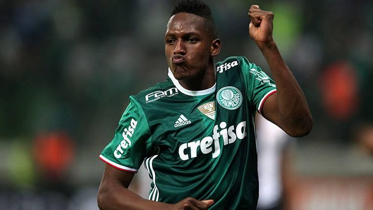 ¡Yerry Mina podría dejar el Palmeiras este mismo verano!