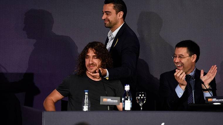 Bartomeu y Puyol, sin tensiones por el caso Eric Garcia