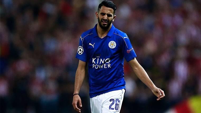 El Leicester advierte a un Riyad Mahrez muy descentrado