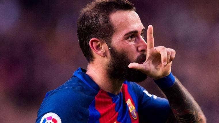 """Aleix Vidal ya se entrena: Quiere ser """"titular"""" para Valverde"""